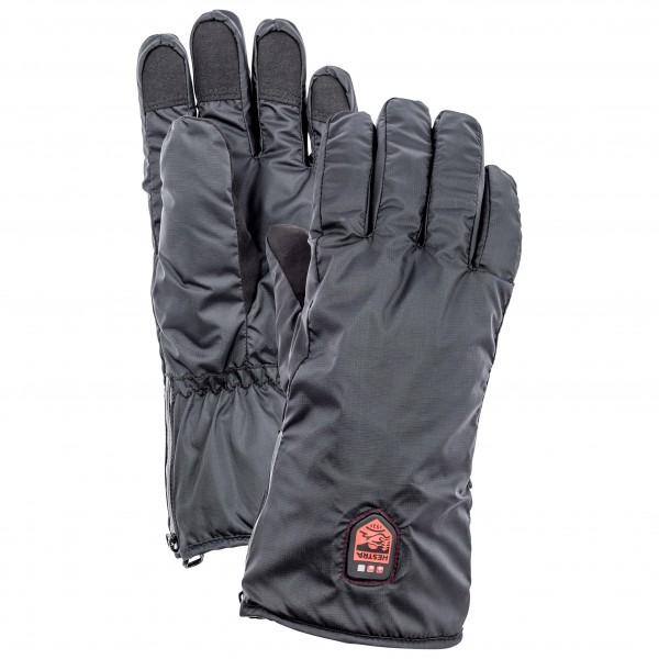 Hestra - Heated Liner 5 Finger - Handschuhe Gr 7 grau/schwarz