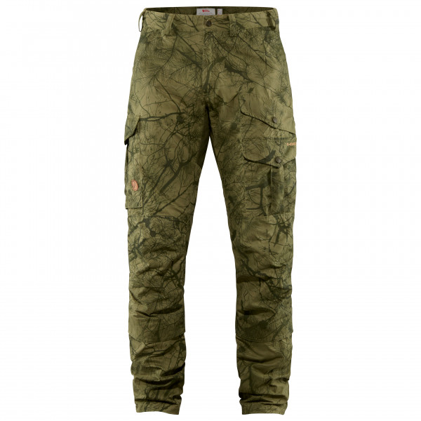 Fjällräven - Barents Pro Hunting Trousers - Winterhose Gr 46 - Long Fit - Raw Length oliv