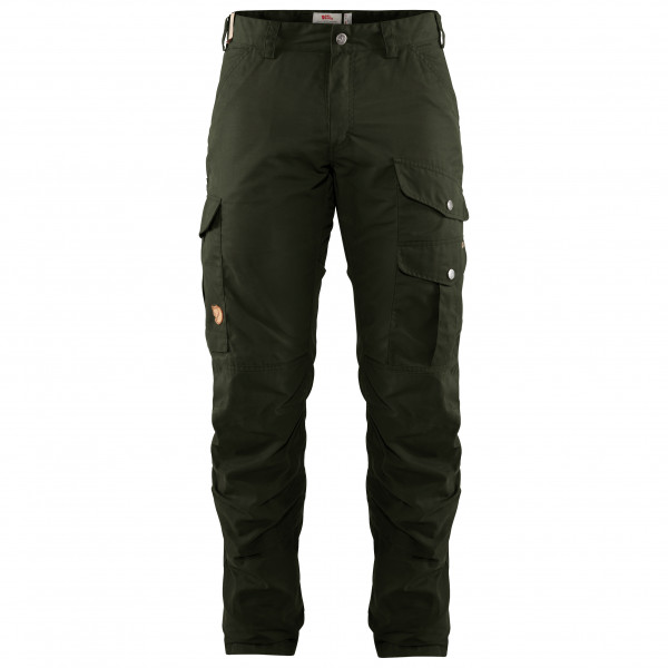Fjällräven - Barents Pro Hunting Trousers - Winterhose Gr 50 - Long Fit - Raw Length schwarz