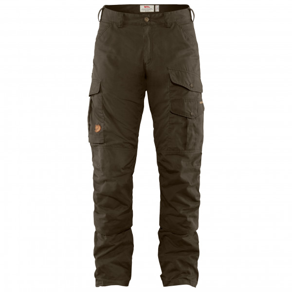 Fjällräven - Barents Pro Hunting Trousers - Trekkinghose Gr 46 - Long Fit - Raw Length braun