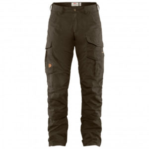 Fjällräven - Barents Pro Hunting Trousers - Trekkinghose Gr 56 - Long Fit - Raw Length braun