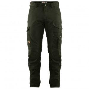 Fjällräven - Barents Pro Hunting Trousers - Trekkinghose Gr 48 - Long Fit - Raw Length schwarz